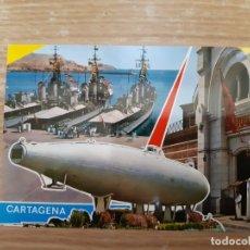 Postales: ANTIGUA POSTAL DE CARTAGENA - MURCIA AÑOS 60 - 70. Lote 176777990