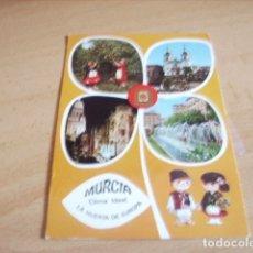 Postales: MURCIA -- DIVERSOS ASPECTOS. Lote 176985172