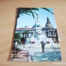 Postales: CARTAGENA ( MURCIA ) MONUMENTO A LOS HEROES DE CAVITE. Lote 176986160