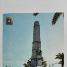 Postales: POSTAL CARTAGENA, MONUMENTO HEROES DE CAVITE Y SANTIAGO DE CUBA, Nº 98. Lote 177286398
