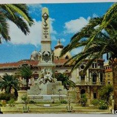 Postales: POSTAL CARTAGENA, MONUMENTO A LOS HEROES DE SANTIAGO Y CAVITE, Nº 11. Lote 177286554