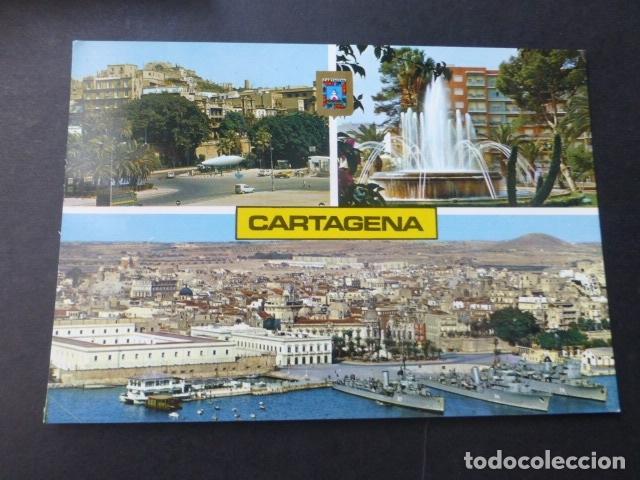 CARTAGENA MURCIA VARIAS VISTAS (Postales - España - Murcia Moderna (desde 1.940))