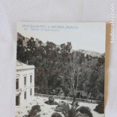 Postales: POSTAL ARCHENA, Nº 35GRAN BALNEARIO, TERRAZA DEL CASINO, EDICION ESPECIAL. Lote 177986908