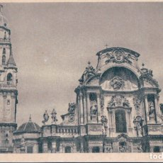 Postales: POSTAL MURCIA - CATEDRAL - TORRE Y FACHADA PRINCIPAL 5 - FOURNIER. Lote 178121155