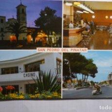 Postales: POSTAL SAN PEDRO DEL PINATAR -VARIOS ASPECTOS. Lote 178555786