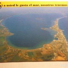 Postales: POSTAL REGION MURCIA -DIRECC.TURISMO MAR MENOR -CIRCULADA. Lote 178762316