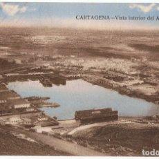 Postales: POSTAL CARTAGENA VISTA INTERIOR DEL ARSENAL . Lote 178947257