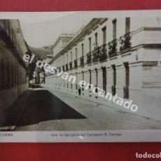 Postales: ARCHENA. UNA DE LAS CALLES DEL BALNEARIO H. TERMAS. Lote 179264436