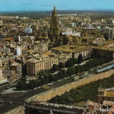 Postales: MURCIA, VISTA AÉREA - ESCUDO DE ORO Nº 133 - CIRCULADA. Lote 179312616