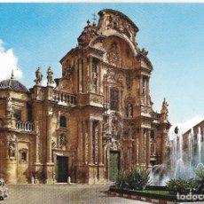 Postales: MURCIA, FACHADA CATEDRAL - ESCUDO DE ORO Nº 14 - S/C. Lote 179324852