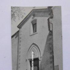 Postales: GUADALEST. FACHADA DE LA IGLESIA. SIN CIRCULAR. CCTT. Lote 179541988