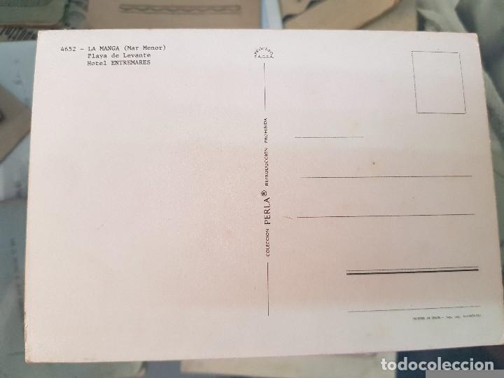 Postales: ANTIGUA POSTAL LA MANGA MAR MENOR MURCIA PERLA 4652 ENTREMARES - Foto 2 - 181106135