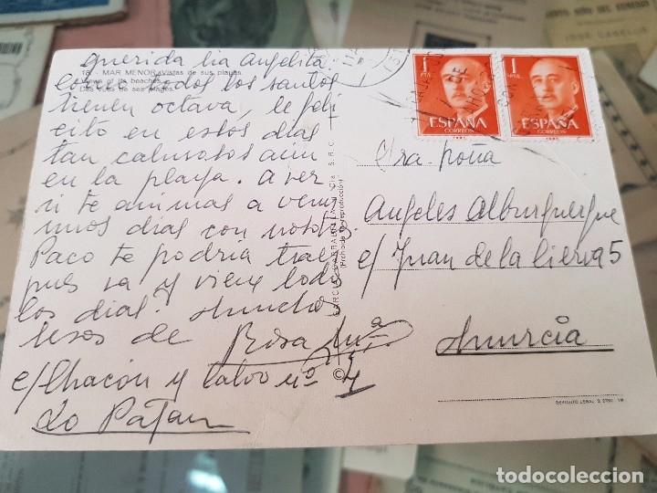 Postales: ANTIGUA POSTAL MAR MENOR MURCIA SUBIRATS 18 - Foto 2 - 181109707