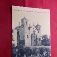 Postales: TARJETA POSTAL. 25. MURCIA. EL SANTUARIO DE LA VIRGEN DE LA FUENSANTA. EDICION MELERO. Lote 181223472