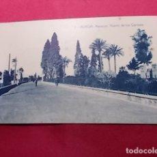 Postales: TARJETA POSTAL. 7. MURCIA. MALECÓN. HUERTO DE LOS CIPRESES. EDICIONES ROMERO. Lote 181225692