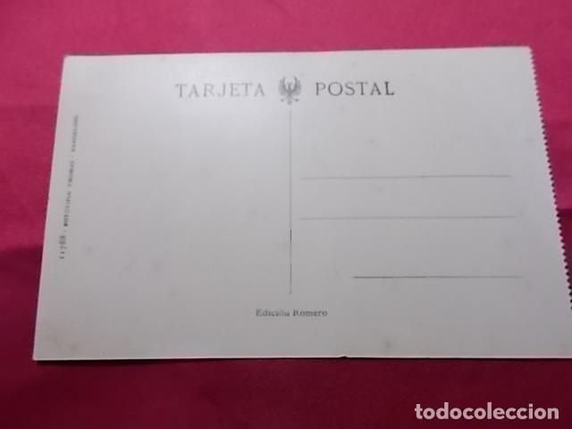 Postales: TARJETA POSTAL. 8. MURCIA. JARDIN DE FLORIDABLANCA Y ALAMEDA DE COLON. EDICIONES ROMERO - Foto 2 - 181226426
