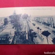 Postales: TARJETA POSTAL. 8. MURCIA. JARDIN DE FLORIDABLANCA Y ALAMEDA DE COLON. EDICIONES ROMERO. Lote 181226426