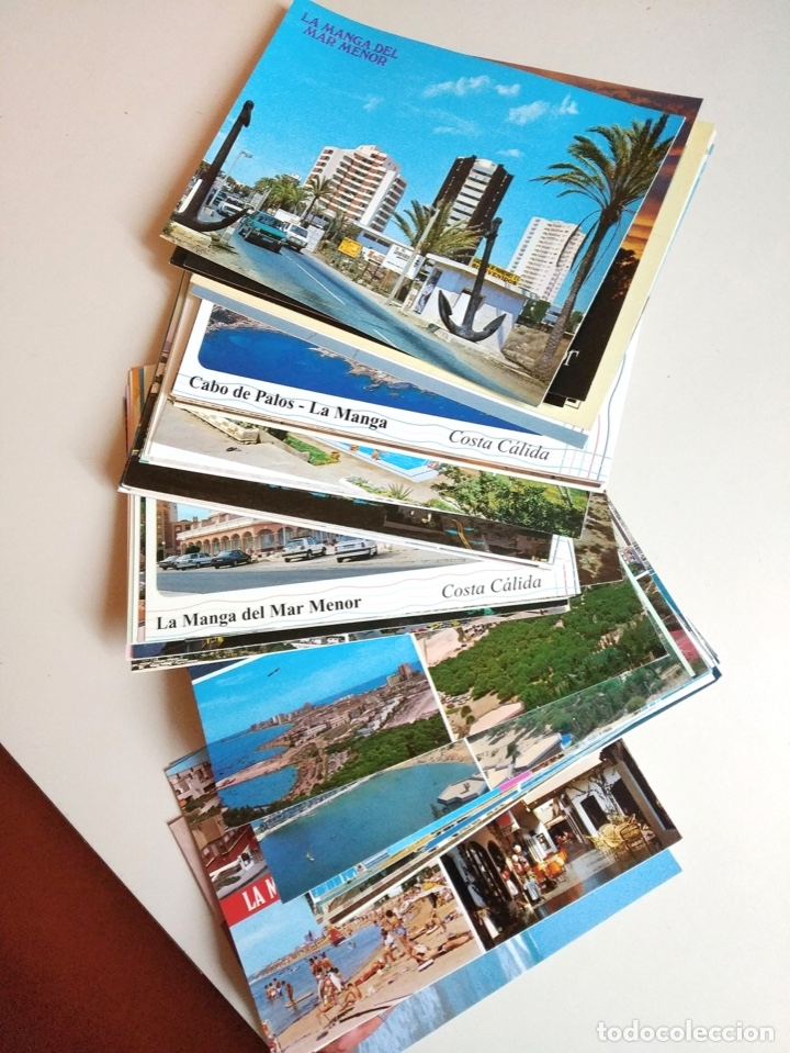 POSTALES MAR MENOR, CARTAGENA Y PTO MAZARRON (Postales - España - Murcia Moderna (desde 1.940))