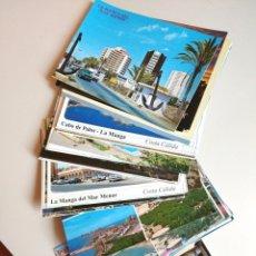 Postales: POSTALES MAR MENOR, CARTAGENA Y PTO MAZARRON. Lote 182050455
