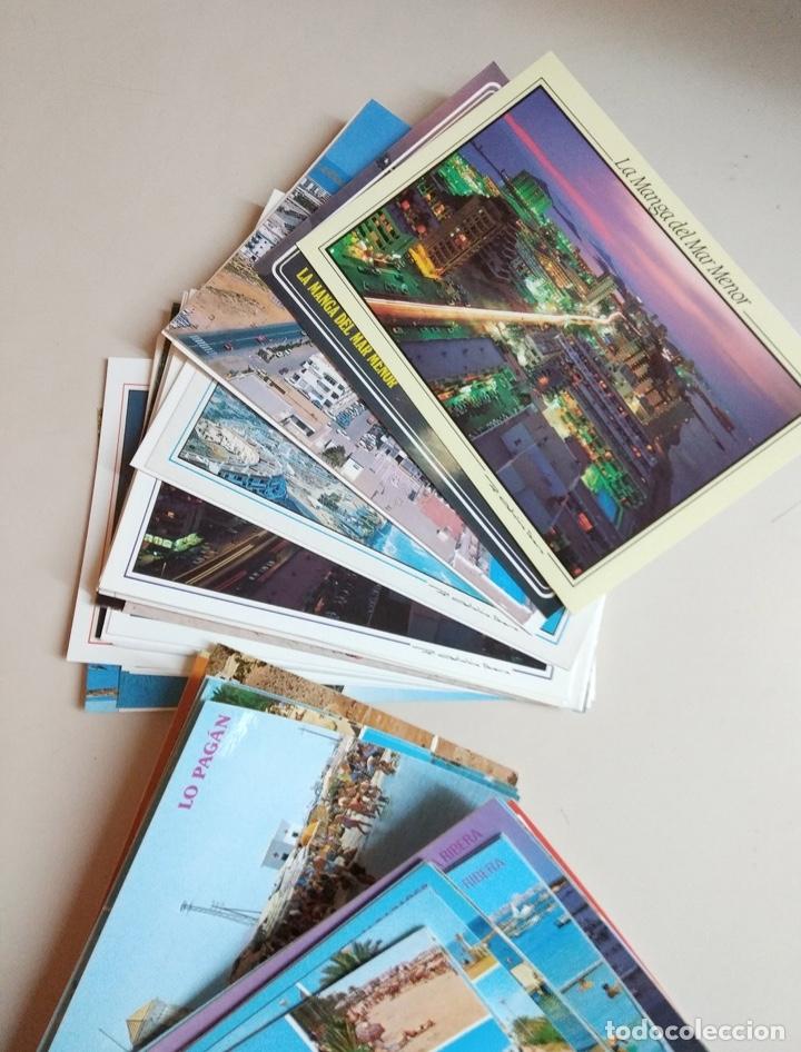 Postales: postales mar menor, cartagena y pto mazarron - Foto 3 - 182050455