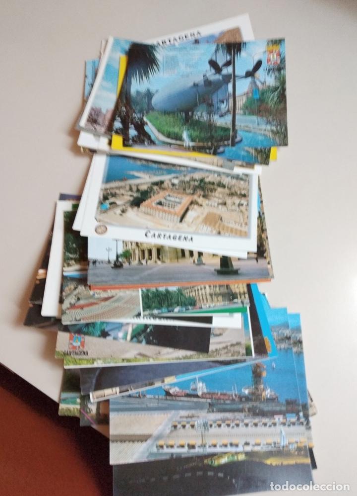 Postales: postales mar menor, cartagena y pto mazarron - Foto 5 - 182050455