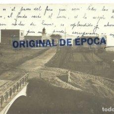 Postales: (PS-62092)POSTAL FOTOGRAFICA DE PALAMOS-ENTRADA AL FARO. Lote 182199992