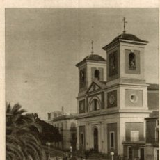 Postales: AGUILAS (MURCIA) IGLESIA PARROQUIAL DE SAN JOSÉ. Lote 182730577