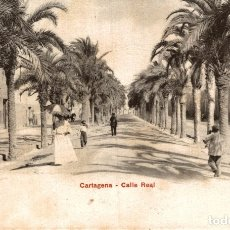 Postales: CARTAGENA. CALLE REAL. Lote 182730836