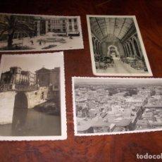 Postales: LOTE 4 POSTALES MURCIA, EN BLANCO Y NEGRO, VER FOTOS Y LEER DESCRIPCIÓN. Lote 182892226