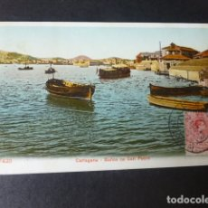 Postales: CARTAGENA MURCIA BAÑOS DE SAN PEDRO ED. P Z Nº 47420. Lote 182908997