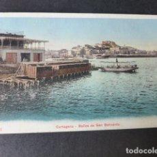 Postales: CARTAGENA MURCIA BAÑOS DE SAN BERNARDO ED. P Z Nº 47421. Lote 182909040
