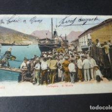 Postales: CARTAGENA MURCIA EL MUELLE ED. P Z Nº 47413. Lote 182909066