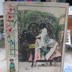 Postales: ANTIGUA POSTAL SEMANA SANTA PROCESIONES DE LORCA MURCIA PAPELERIA LUIS MONTIEL. Lote 183305260
