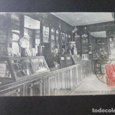 Postales: AGUILAS MURCIA PAPELERIA E IMPRENTA DE S. ALARCON POSTAL 1909 RARA EDITOR DE POSTALES. Lote 183438417