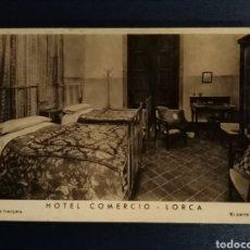 Postales: POSTAL PUBLICITARIA DE LORCA, MURCIA, HOTEL COMERCIO. Lote 183608250