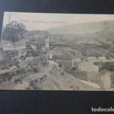 Postales: ABARAN MURCIA VISTA PARCIAL FOTOGRAFO E. TEMPLADO PPDAD. A GOMEZ YELO. Lote 183696558