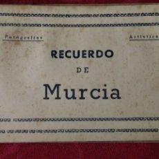 Postales: MURCIA BLOCK 10 POSTALES EDICIONES ARRIBAS SERIE 2ª. Lote 184126021