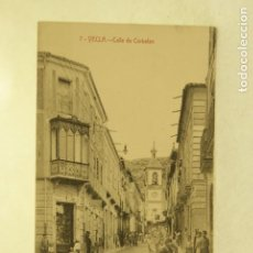 Postales: RARA YECLA MURCIA 7 CALLE DE CORBALAN FOTO RIPOLL ANIMADA. Lote 185880071