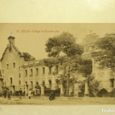 Postales: RARA YECLA MURCIA 13 COLEGIO ESCUELAS PIAS FOTO RIPOLL ANIMADA. Lote 185880533