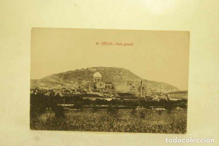 RARA YECLA 19 VISTA GENERAL MURCIA FOTO RIPOLL (Postales - España - Murcia Antigua (hasta 1.939))