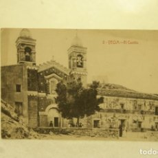 Postales: RARA YECLA 2 EL CASTILLO MURCIA FOTO RIPOLL. Lote 185889457
