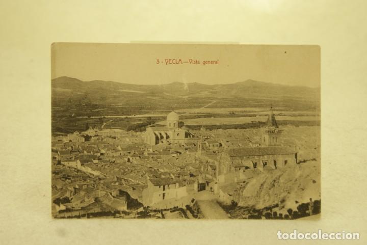 RARA YECLA 3 VISTA GENERAL MURCIA FOTO RIPOLL (Postales - España - Murcia Antigua (hasta 1.939))