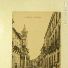 Postales: RARA YECLA 8 CALLE NUEVA MURCIA FOTO RIPOLL ANIMADA. Lote 185889712