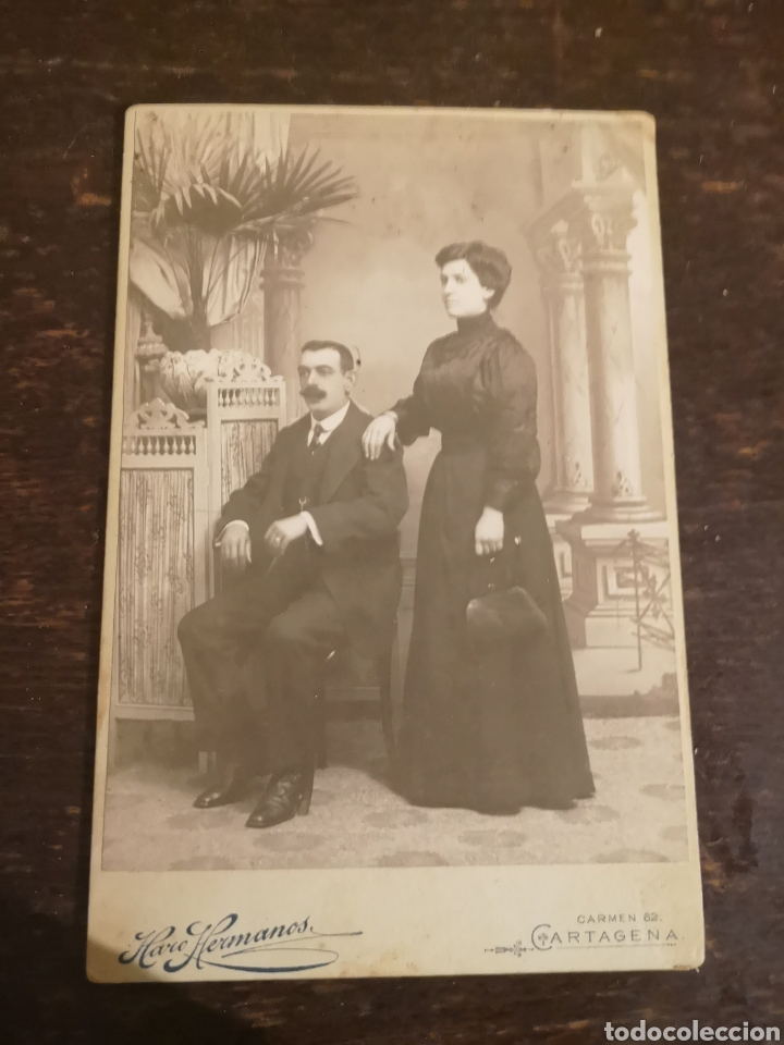 FOTO POSTAL ANTIGUA. (Postales - España - Murcia Antigua (hasta 1.939))