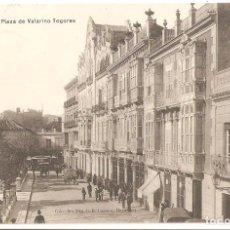 Postales: CARTAGENA (MURCIA) PLAZA DE VALARINO TOGORES.. Lote 186049670