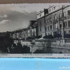 Postais: POSTAL DE CARTAGENA - MURALLA DEL MAR Y ESCALERA AL PASEO DEL MUELLE - EDC. ARRIBAS Nº 4. Lote 188434027