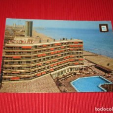 Postales: HOTEL ENTREMARES - LA MANGA DEL MAR MENOR - PISCINA - Nº 24 - ESCRITA Y CIRCULADA. Lote 188674488