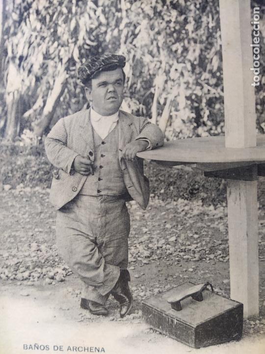 Postales: BAÑOS DE ARCHENA-MURCIA-LIMPIABOTAS-ENANO-CLICHE ACOSTA-REVERSO SIN DIVIDIR-POSTAL ANTIGUA-(65.768) - Foto 2 - 189892498