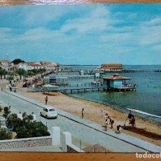 Postales: MURCIA. LOS ALCAZARES- MAR MENOR-Nº4-PASEO Y PLAYA DE LA CONCHA. Lote 190611420