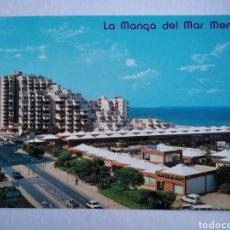 Postales: POSTAL 48 LA MANGA DEL MAR MENOR MURCIA CENTRO COMERCIAL EL CASINO EDIF MÓNACO AÑO 1988 ED ARRIBAS. Lote 191354475